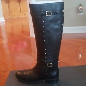 Vince Camuto Knee length wild calf boots